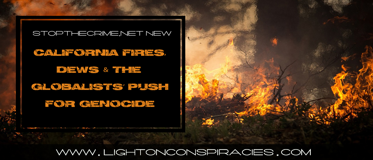 California Fires, Directed Energy Weapons & the Globalists Push for