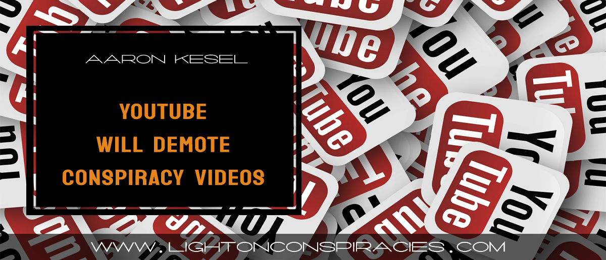 1984: YouTube Will Demote Conspiracy Videos In Its ...