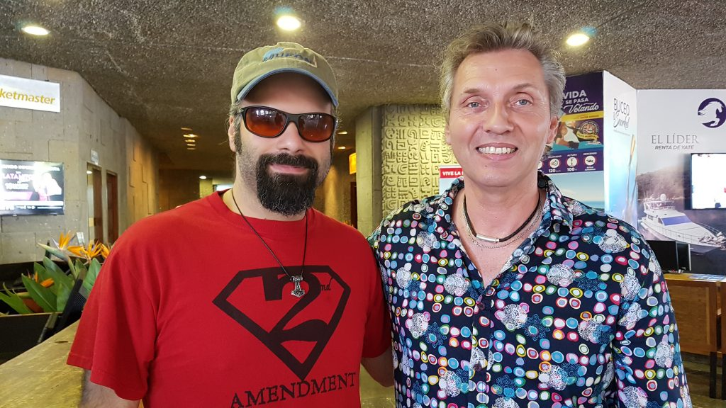 With Mark Passio in Anarchapulco